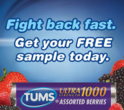 Tums Antacid Samples